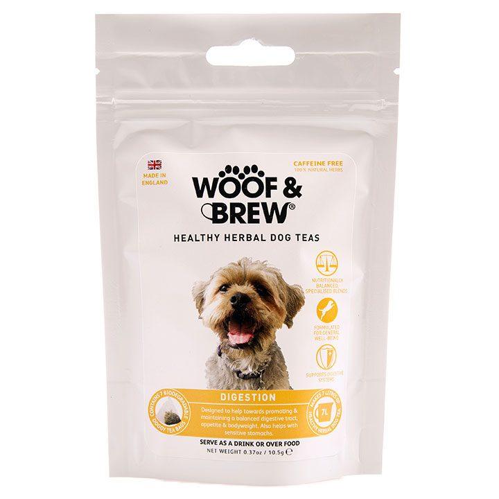 Bylinný čaj pro psy Zažívání žaludek