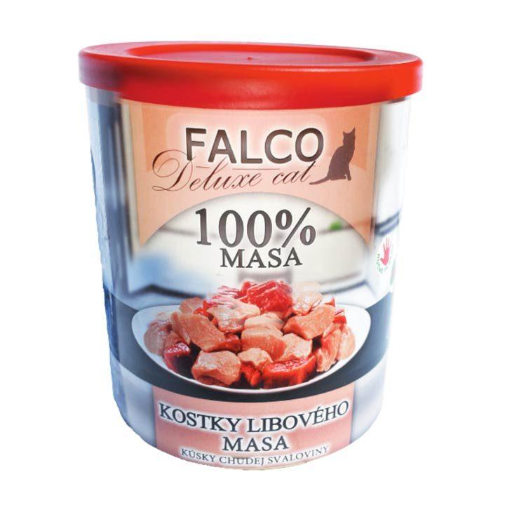 Falco 100% Hovězí a vepřové bez kosti pro kočky