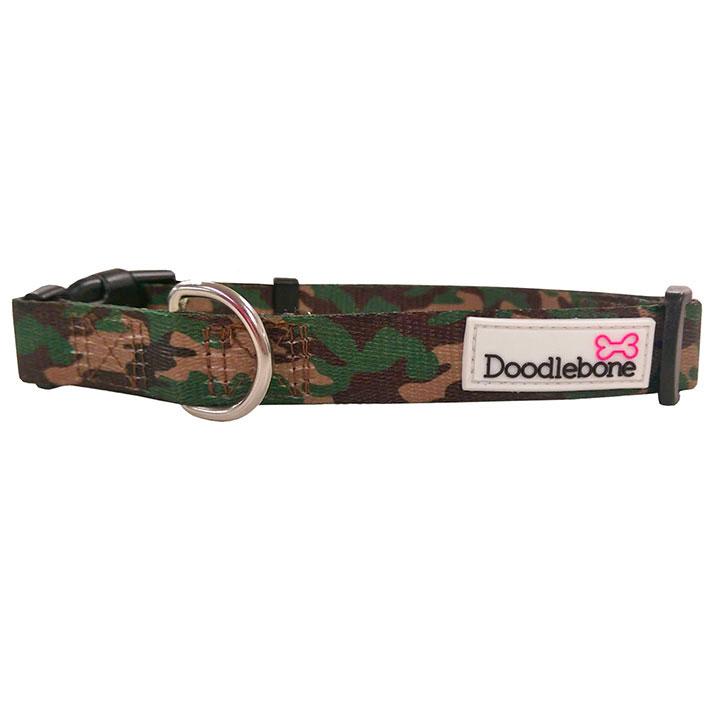 Doodlebone Obojek pro psy štěňata Army