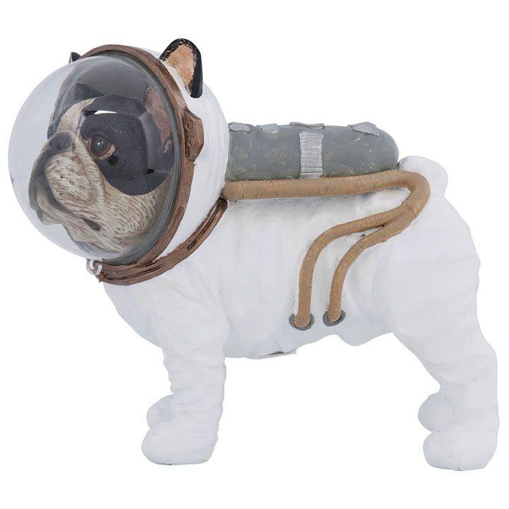 Space Dog dekorace buldoček boston teriér