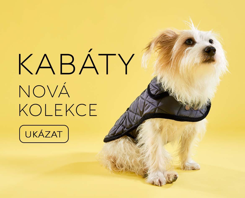 Kabáty oblečky pro psy luxusní