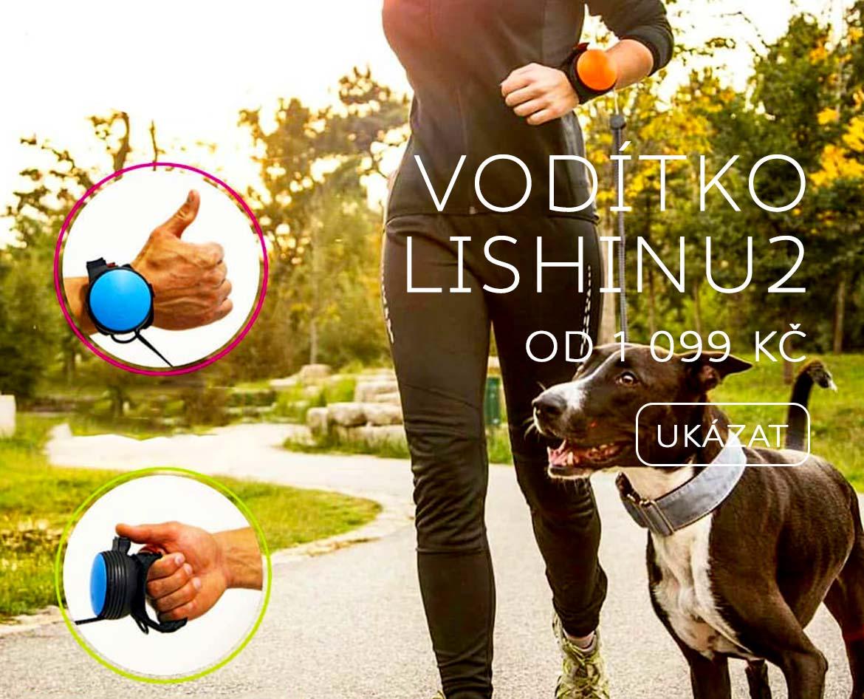 lishinu hands free vodítko pro psy