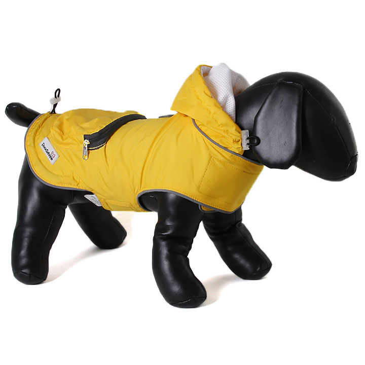 Pláštěnka Mac-in-a-pack Yellow pro psy Doodlebone