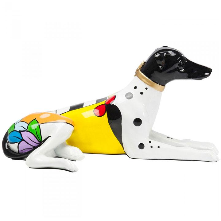 Dog Colore socha psa chrta vipeta