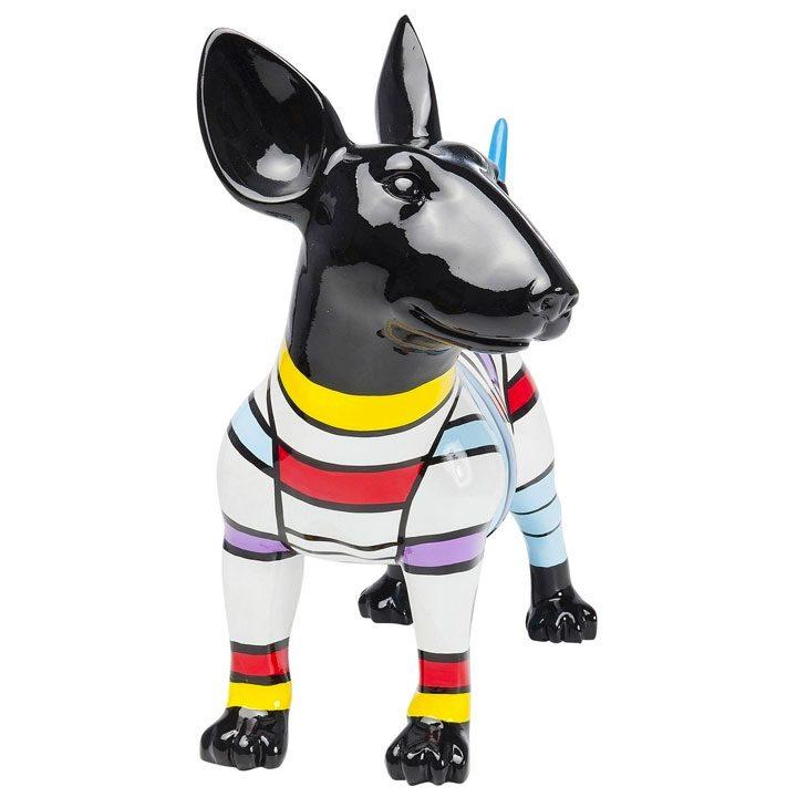 Dog Stripe socha bulteriér dekorace