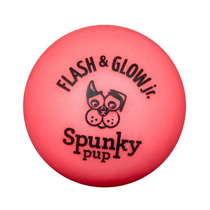 Blikající míček pro psy 5 cm Pink