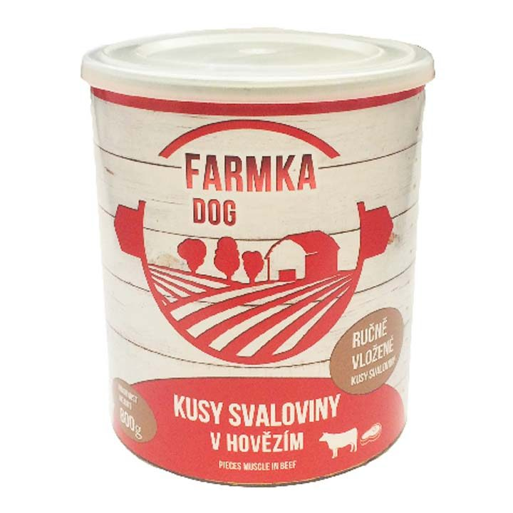 Farmka 100% Hovězí bez kosti v mletém hovězím 800 g