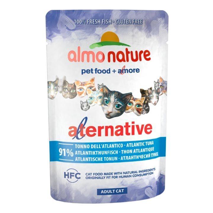 Almo Nature Atlantský tuňák pro kočky 55 g