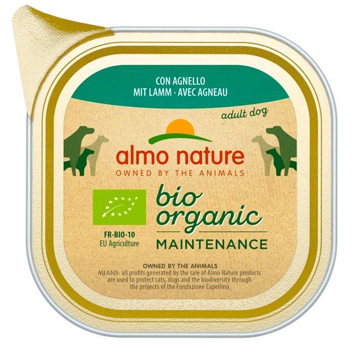 Almo Nature Bio Jehněčí 100 g vanička pro psy