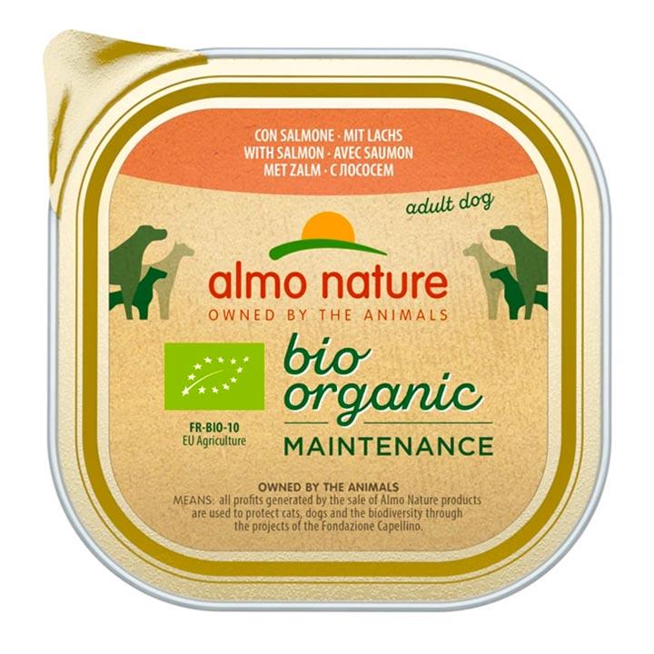 Almo Nature Bio Losos 100 g vanička pro psy