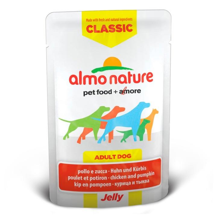 Almo Nature Kuře a dýně v želé 70 g kapsička pro psa