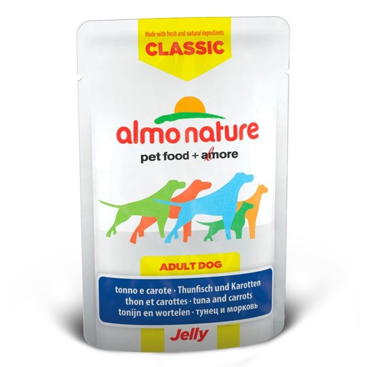Almo Nature Tuňák a mrkev v želé 70 g kapsička pro psy