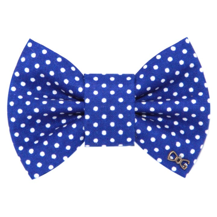 Motýlek Dots Blue pro psa