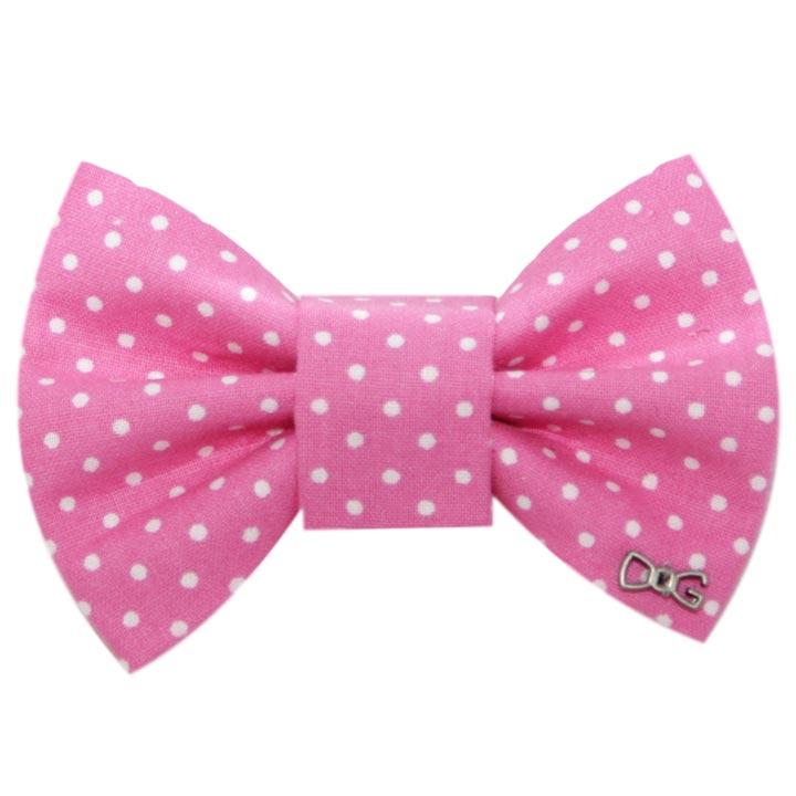 Motýlek Stripes Pink pro psy