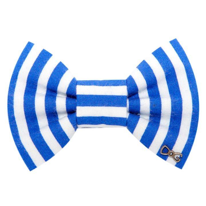 Motýlek Stripes Blue pro psy
