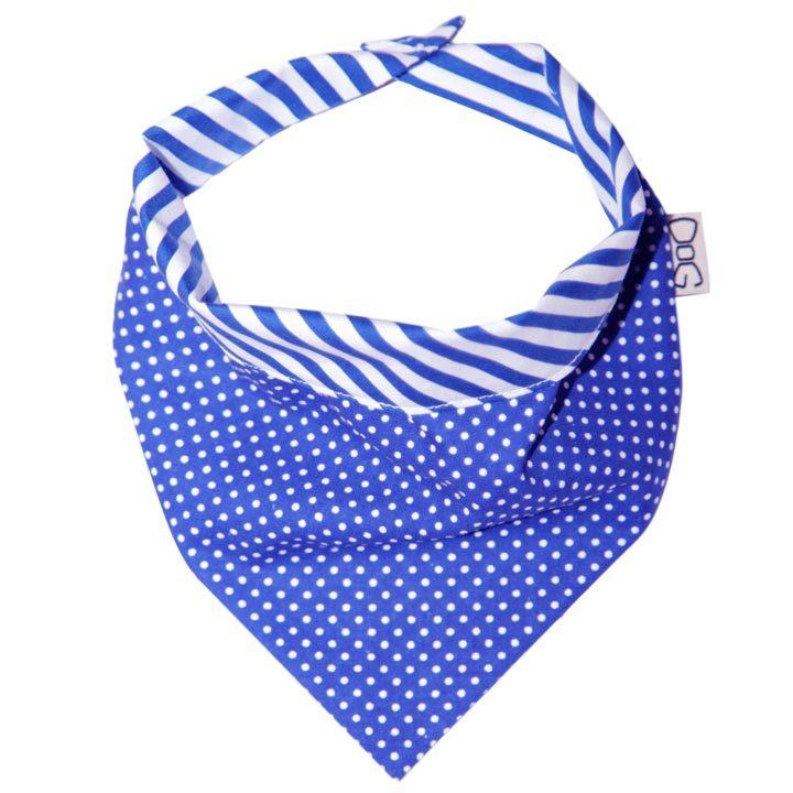 Šátek Dots & Stripes Blue