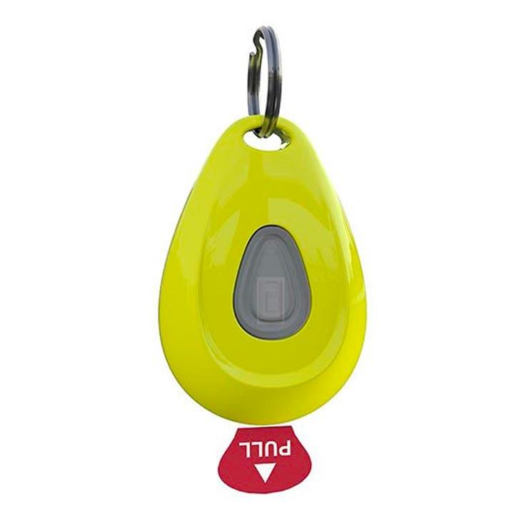 ZeroBugs Přívěsek proti klíšťatům a blechám Neon Yellow