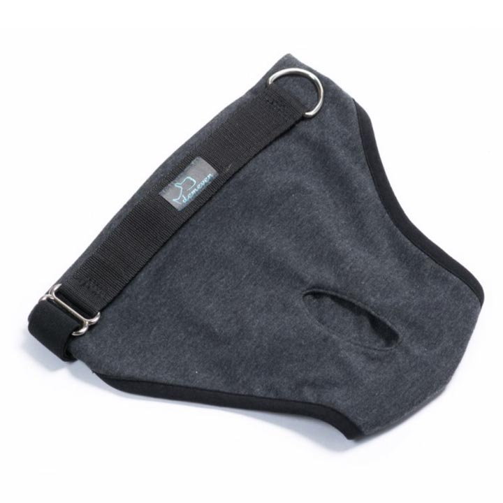 Hárací kalhotky pro fenky Simple Grey kvalitní designové české