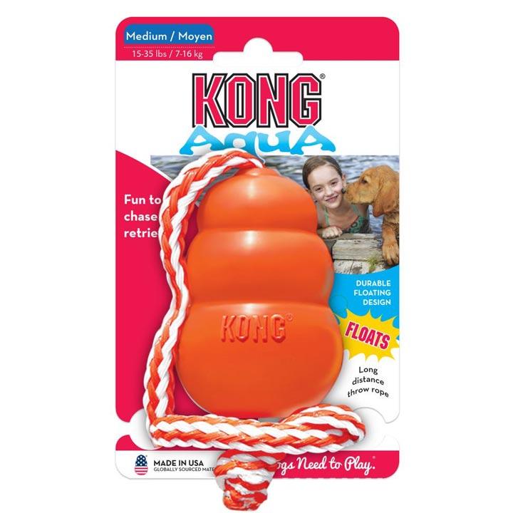 Nezničitelná hračka Kong do vody pro psy