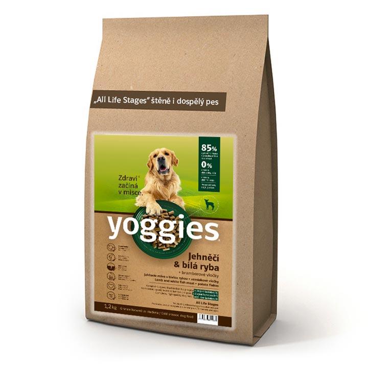 Granule pro psy Yoggies Jehněčí s rybou