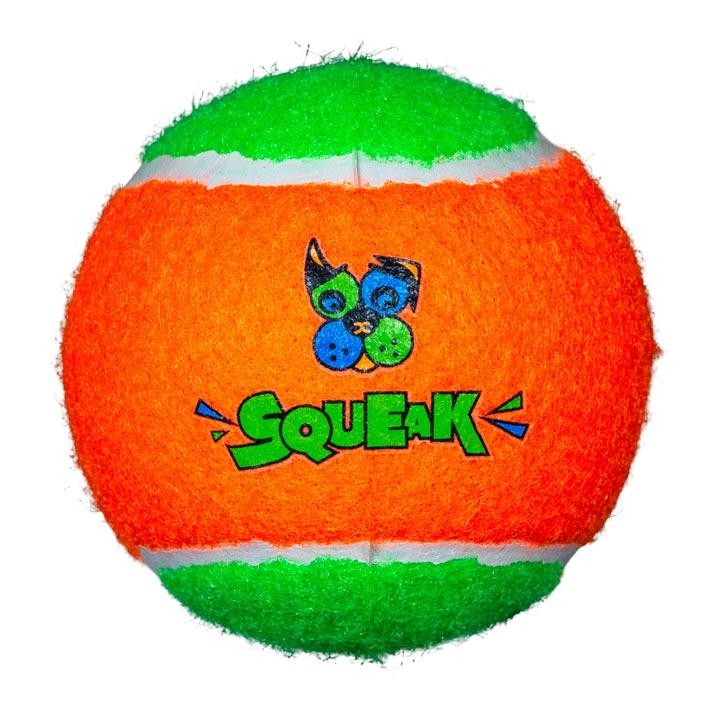 Pískací tenisový míček pro psy