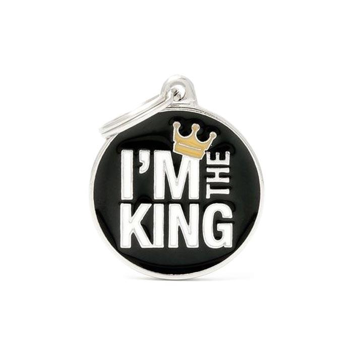 Psí známka I'm the King