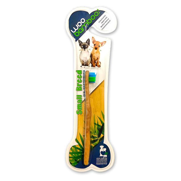 Eko kartáček z bambusu pro malé psy a kočky