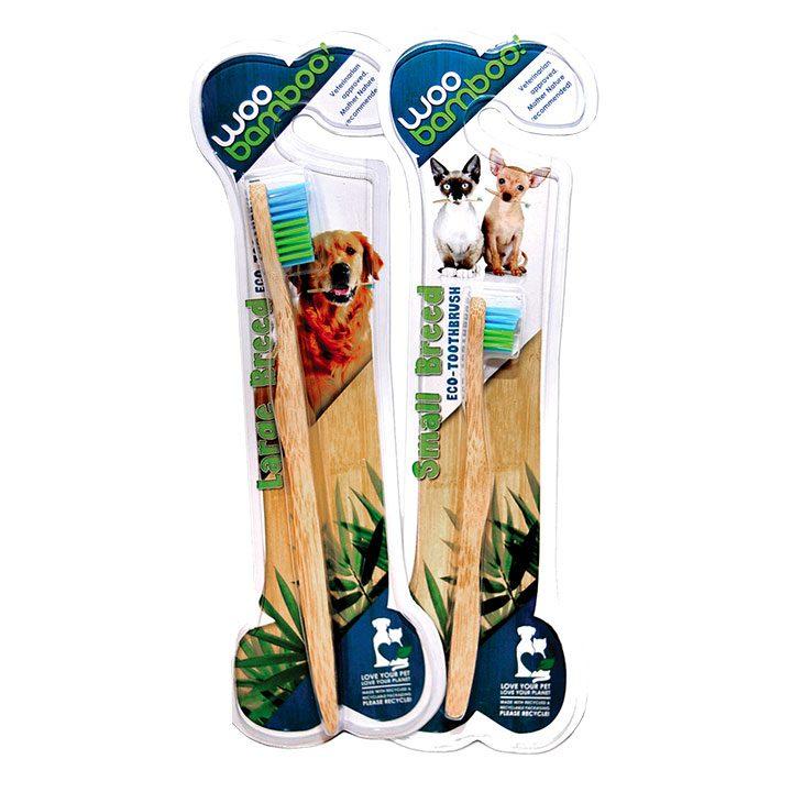Eko zubní kartáček z bambusu pro psy a kočky