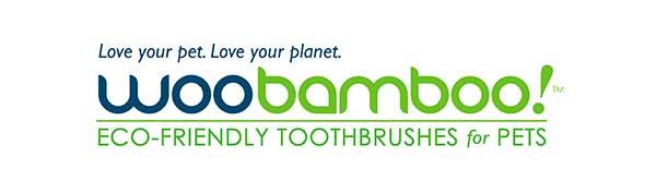 WooBamboo logo kartáčky
