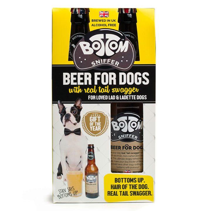 Dárkový set Pivo pro psy Bottom Sniffer 2x