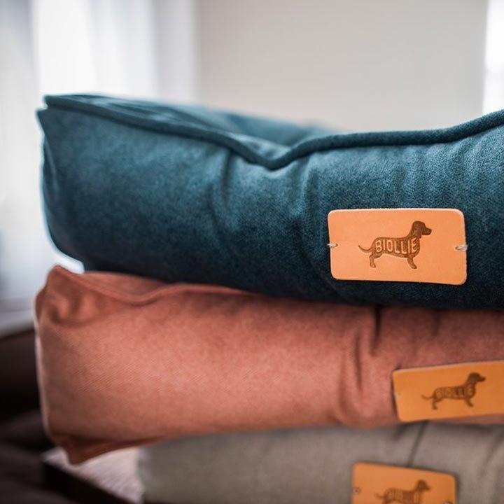 Matrace Ollie Duracare Turquoise luxusní pelíšek pro psy