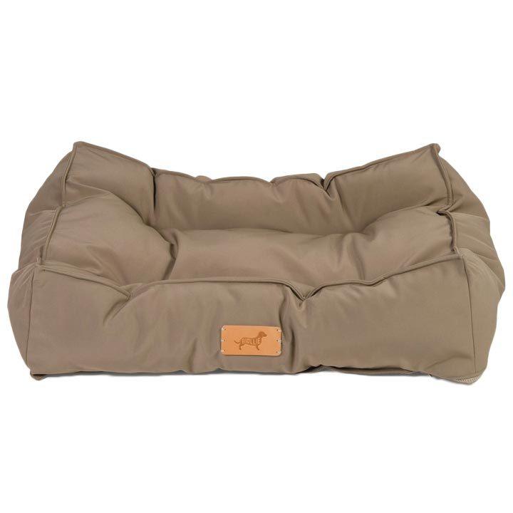 Matrace Ollie Softshell Cappuccino luxusní pelíšek pro psy