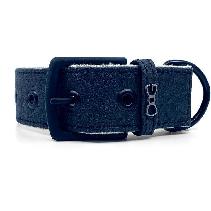 Široký obojek pro psy Piña Black