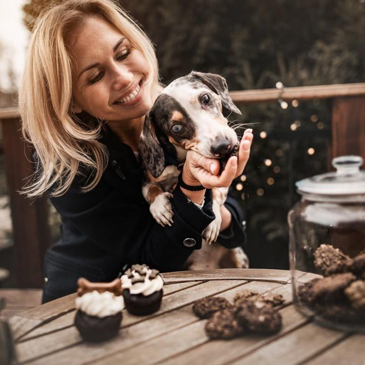 Cookies sušenky pro psy Woofingly Dreamy Chocolate