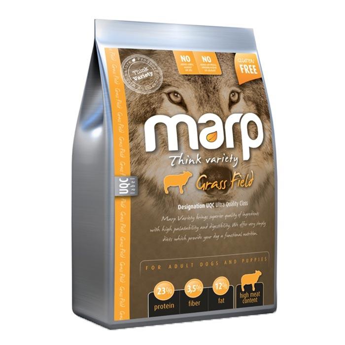 Marp Variety Grass Field Jehněčí granule pro psy levně