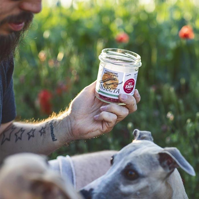 Pet Farm Family Hmyzí sušenky pro psy bez masa