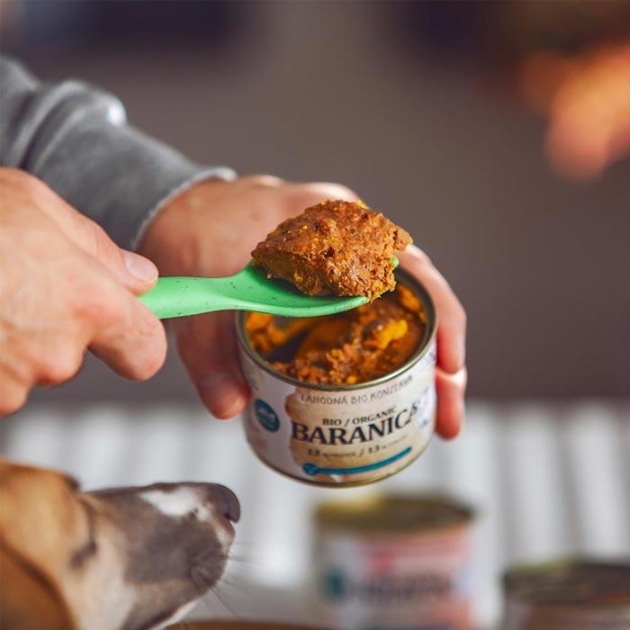 Pet Farm Family Bio Beran jehněčí konzerva pro psy