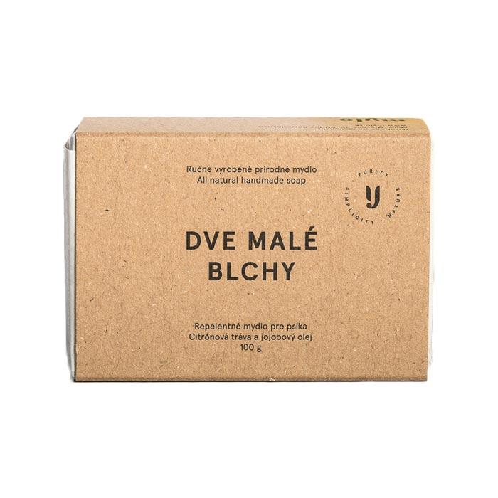 Mylo Repelentní mýdlo s citronovou trávou tuhý šampon pro psy proti klíšťatům