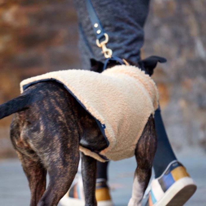 Overal s rukávy Sherpa Fleece pro psy