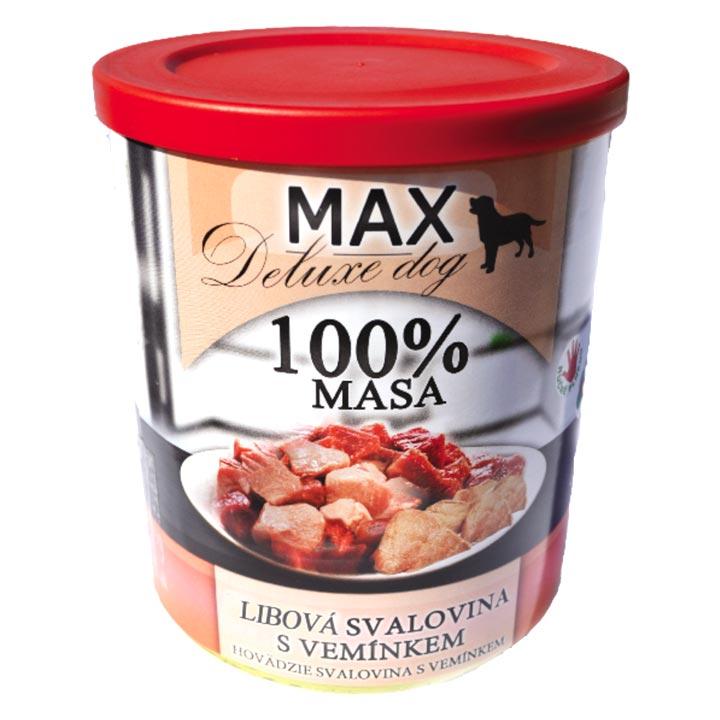 Falco 100% Libová svalovina s vemínkem 800 g konzerva pro psy
