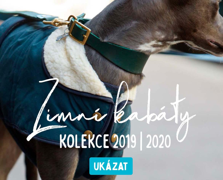 Luxusní designové kabátky oblečky pro psy 2019 2020