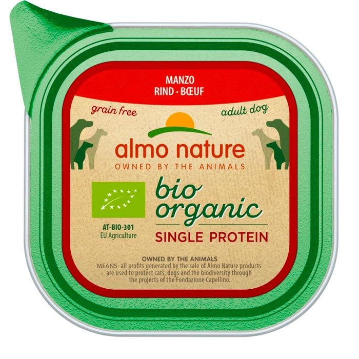Almo Nature Bio Single Protein Hovězí 150 g
