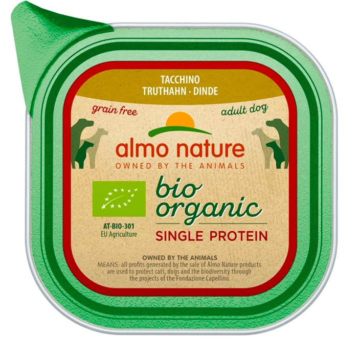 Almo Nature Bio Single Protein Krůta 150 g