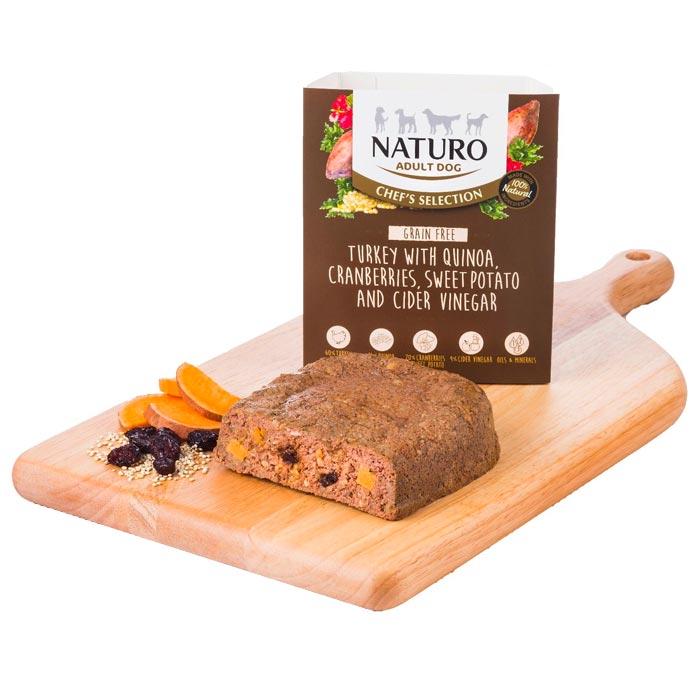 Naturo Chef's Krůta s quinoou a brusinkami
