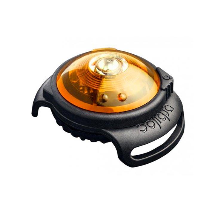 Orbiloc Yellow LED světlo na obojek svítící obojek pro psa
