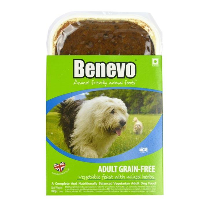 Benevo Veganská vanička 395 g krmivo pro psy bez masa