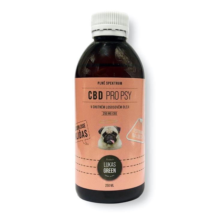 Konopný olej pro psy s CBD Na bolest, úzkost, artritídu