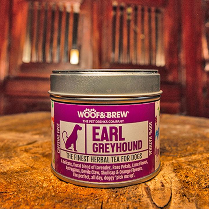 Earl Greyhound Bylinný čaj proti strachu a úzkosti pro psy