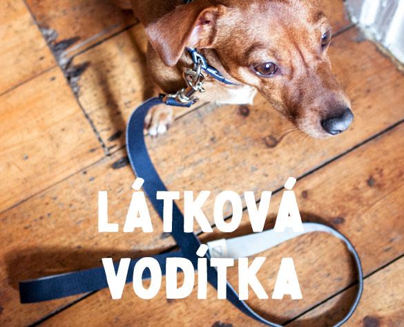 Látková vodítka pro psy