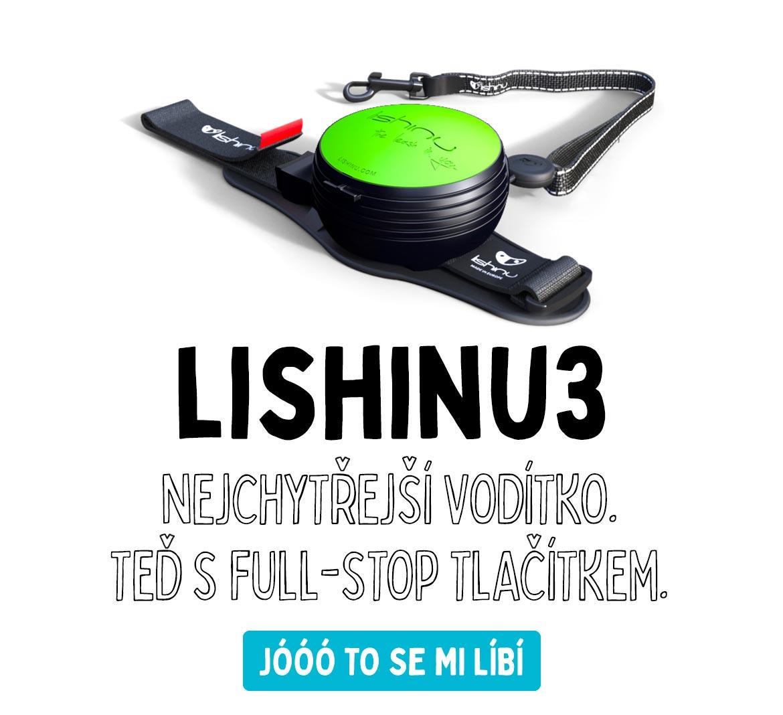 Lishinu3 hands-free vodítko pro psy na ruku